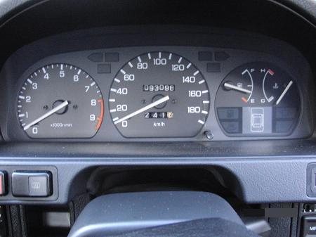 CR-X EF8 のメーター.JPG