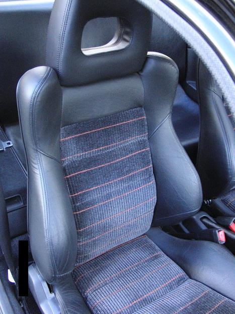 CR-X EF8 の運転席側のシート.JPG