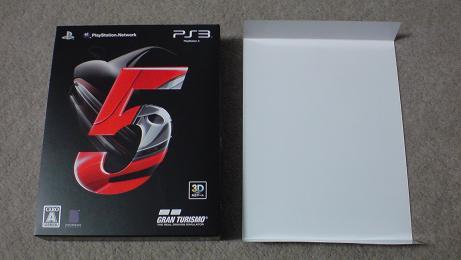 グランツーリスモ5の初回生産版を開封!(PS3 GT5)②.JPG
