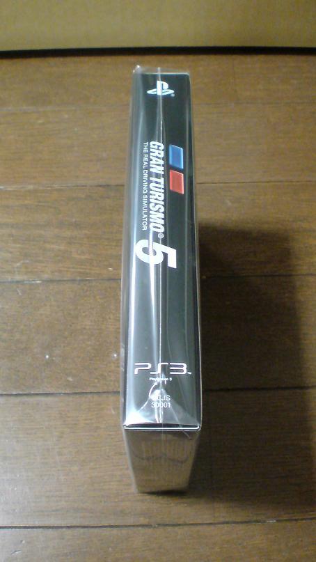 ゲットしたグランツーリスモ5は初回生産版!(PS3 GT5)③.JPG