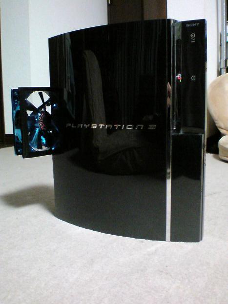 初期型PS3の1号機(60GB)の雄姿①.JPG
