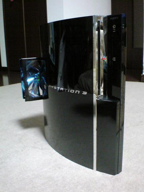 初期型PS3の1号機(60GB)の雄姿⑧.JPG