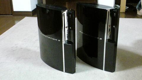 実は、PS3 2号機は、初期型 60GB では無かった...①.JPG