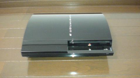 PS3 20GB(2号機)のすっぴん!?写真②.JPG