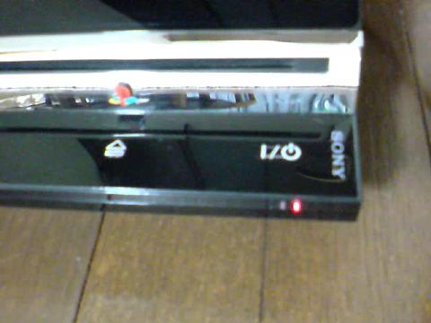 PS3 60GBが、赤点滅...⑨.JPG