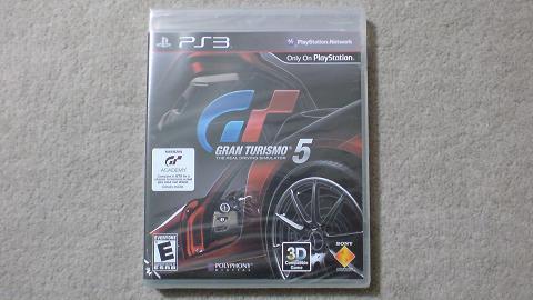 PS3 GRAN TURISMO 5 の通常版と言いつつも...①.JPG