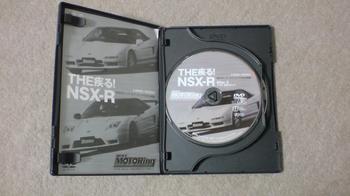お気に入りのDVD 「 THE疾る!NSX-R 」 ②.JPG