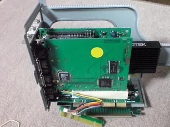 ライザーカードへ拡張ボードを装着⑦.JPG
