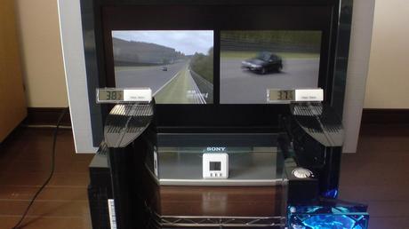互換機能を使用し、PS2用グランツーリスモ4で、ニュルブルクリンクを CR-X EF8 で走行!⑦.JPG