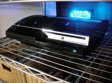 初期型PS3の1号機(60GB)の廃熱ファン点灯!⑤.JPG