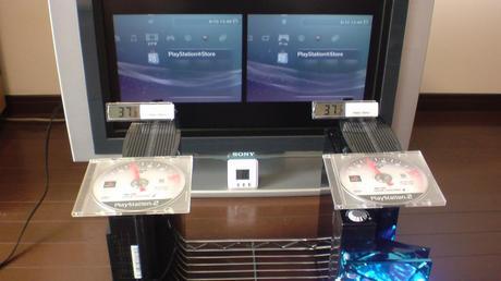 初期型PS3の冷却効果を比較!3.互換機能を使用する(PS2用グランツーリスモ4)①.JPG