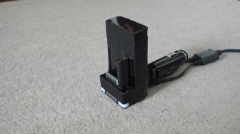 前回製作した iPod nano (5th) 専用の車載ホルダーをバラす①.JPG