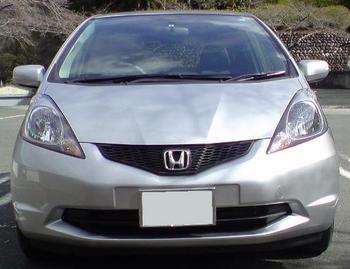 HONDA FIT 1.3G Fパッケージ ディスチャージ 納車 ①.JPG