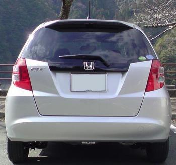 HONDA FIT 1.3G Fパッケージ ディスチャージ 納車 ④.JPG