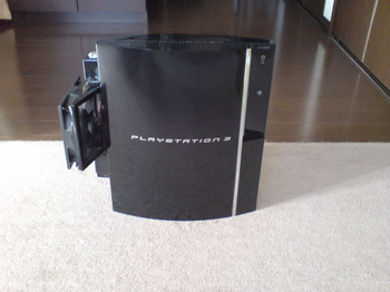 INTERCOOLER TS for PS3 ⑮ 装着後(正面).JPG