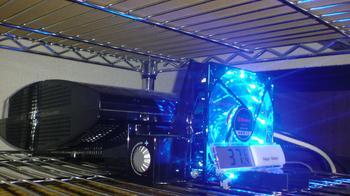 PS3 60GB 冷却装置 温度測定 デジタル温度計 by 100円ショップ④.JPG