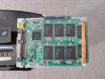 PS3 60GB SSD換装 11 OCZ OCZSSD2-2C60G 絶縁対策.JPG