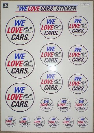 PS3 GT5 WE LOVE CARS③.JPG