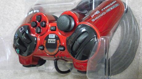 PS3 HKSレーシングコントローラパッケージ開封時の写真⑦.JPG