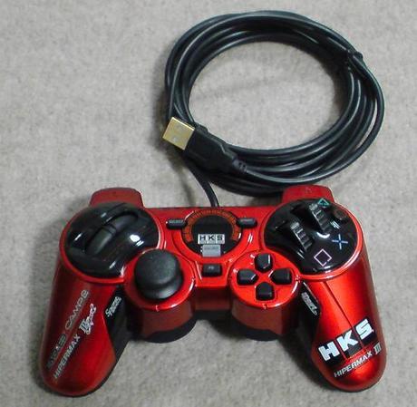 PS3用のHKS Racing ControllerをPCに接続してWINDOWS上で認識されるのか?.JPG