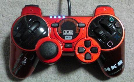 PS3用のHKS Racing ControllerをPCに接続してWINDOWS上で認識されるのか?⑩.JPG