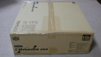 PT2 HTPC テレビ録画機用 PCケース Cooler Master CM Media 260 BLACK ②.JPG