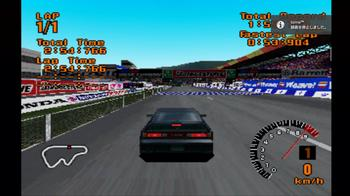 PlayStation(PS1)ソフト GT1起動中の予約録画 ⑧ 録画を停止しました。.JPG