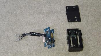 iPod nano (5th) 専用の車載ホルダーの再加工②.JPG