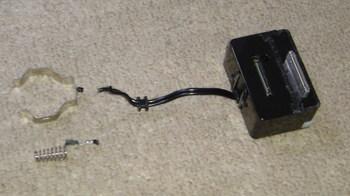iPod nano (5th) 専用の車載ホルダーの加工⑫.JPG