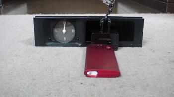 iPod nano (5th) 専用の車載ホルダー用の部品を確認②.JPG